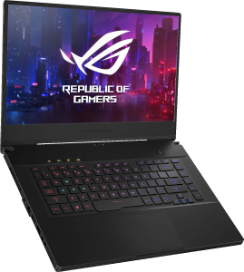 "M Thin and Portable Gaming Laptop, 15.6"" 240Hz FHD IPS, NVIDIA GeForce RTX 2070, Intel Core i7-9750H, 16GB DDR4 RAM, 1TB PCIe SSD, Per-Key RGB, Windows 10 Home"