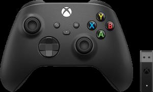 Xbox Wireless Controller + Wireless Adapter